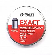 Diabolo JSB Exact Monster 4,5mm 0,870g 400 ks