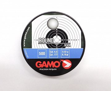 Broky GAMO Round 4,5mm 500ks - 1