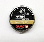 Diabolky Gamo Pro Match 4,5 mm 250 ks plechová dóza