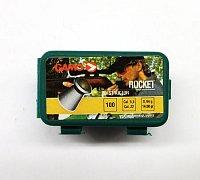 Diabolky Gamo Rocket 5,5mm 100 ks plastová dóza