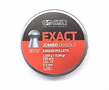 Diabolo JSB Exact Jumbo 5,5mm 1,030g 250 ks - 1