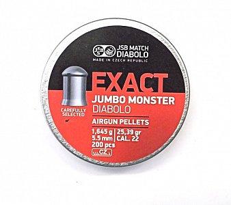 Diabolo JSB Exact Jumbo Monster 5,5mm 1,645g 200 ks - 1