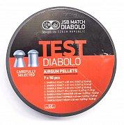 Diabolo JSB TEST Exact 4,5mm pistolové 7x50ks