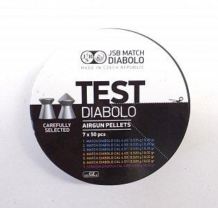 Diabolo JSB TEST Match 4,5mm puškové 7x50ks - 1