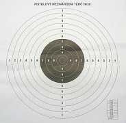 Mezinárodní pistolový terč 50/20