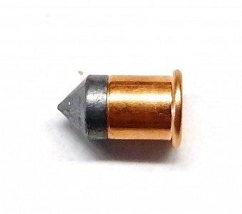 Náboj RWS 9 mm Flobert - špičatá kulka - 2