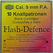 Náboj Wadie 9mm P.A.Flash Defence 10ks
