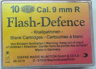 Náboj Wadie 9mm R. Flash Defence 10ks