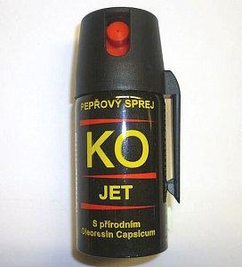 Pepřový spray KO JET 40 ml - 1