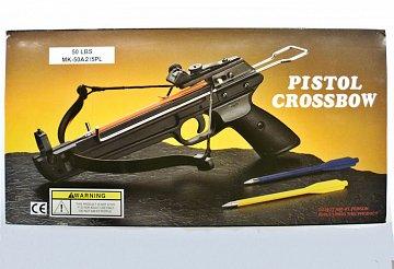 Pistolová kuše Fox MKE - A2 50 lb. kov - 2