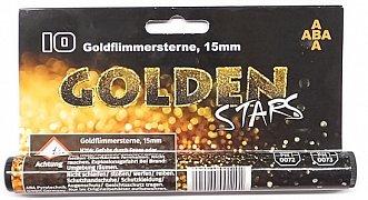 Světelná pyrotechnika - Goldflimmersterne