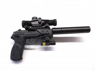 Vzduchová pistole GAMO PT85 Blowback - 2